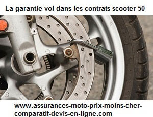 garantie vol – assurance scooter 50